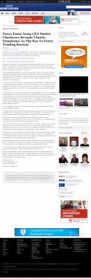 Forex Peace Army -  Business Review (Albany)  - Charitable Donations Provide Successful Forex Trades