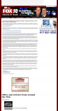 Forex Peace Army -  KFJX-TV FOX-14 (Pittsburg, KS)  - Charitable Donations Provide Successful Forex Trades