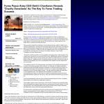 Forex Peace Army - KFVS CBS-12 (Cape Girardeau, MO) - Charitable Donations Provide Successful Forex Trades