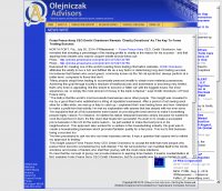 Forex Peace Army -  Olejniczak Advisors  - Charitable Donations Provide Successful Forex Trades